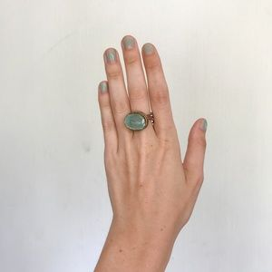 Jewelry - Turquoise Rock Ring